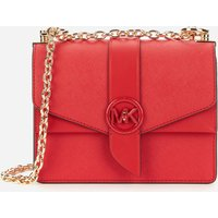MICHAEL Michael Kors Women's Greenwich Small Cross Body Bag - Bright Red