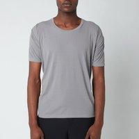 Maison Margiela Men's Crepe Cotton Rib T-Shirt - Storm - IT 52/XL