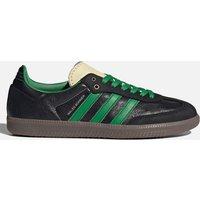 adidas X Wales Bonner Men's Samba Trainers - Core Black/Prime Green - UK 7