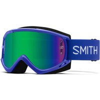 Smith Fuel V1 MTB Goggles - Green Mirror Lens - Klein Blue