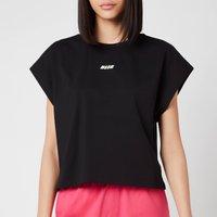 MSGM Active Women's Small Logo T-Shirt - Black - XS
