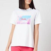 MSGM Active Women's Block Logo T-Shirt - White - XS