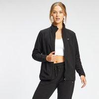 MP Women's Essential Fleece Zip Through Jacket - Black - M