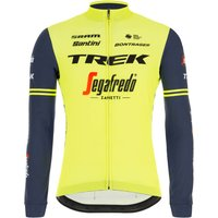 Santini Trek-Segafredo Training Classe Long Sleeve Jersey - XS