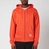 KENZO Men's Sport Full Zip Hoodie - Deep Orange - XXL