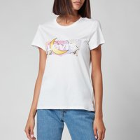 Levi's Women's The Perfect T-Shirt - Batwing Dreamy Fill White - M