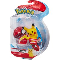 Pokemon Pop Action Pikachu Poke Ball