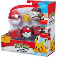 Pokemon Clip 'N' Go Pikachu Poke Ball Belt Set