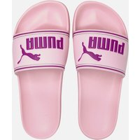 Puma Women's Leadcat Slide Sandals - Pink Lady/Byzantium - UK 6