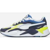 Puma Men's Rs X3 Twill Airmes Running Style Trainers - Puma White/Peacoat - UK 10