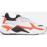 Puma Men's Rs-X Mix Running Style Trainers - Puma White/Tigerlily - UK 11