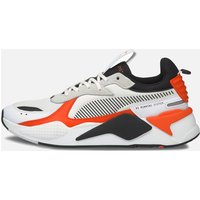 Puma Men's Rs-X Mix Running Style Trainers - Puma White/Tigerlily - UK 10