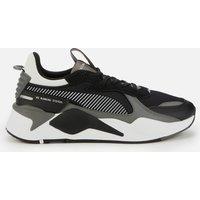 Puma Men's RS-X Mix Running Style Trainers - Puma Black/Castlerock - UK 10