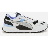 Puma Men's Rs 2.0 Futura Running Style Trainers - Puma Black/Elektro Purple/Puma Silver - UK 9