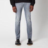 Jacob Cohen Men's J622 Grey White Badge Slim Jeans - Grey - W35