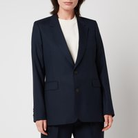 AMI Women's Two Buttons Jacket - Navy - XS