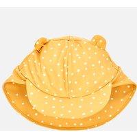 Liewood Girls' Senia Sun Hat - Confetti Yellow Mellow Mix - 9-12 months