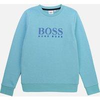 Hugo Boss Boys' Logo Sweatshirt - Sea Green - 14 Years