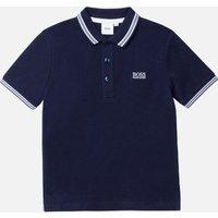 Hugo Boss Boys' Short Sleeve Classic Polo Shirt - Navy - 4 Years