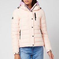 Superdry Womens Classic Fuji Jacket - Pink Clay - UK 14