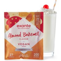 Vegan Meal Replacement Almond Bakewell Flavour Shake