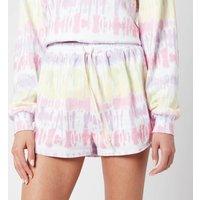 Olivia Rubin Women's Hebe Jogger Shorts - Tie Dye - M