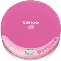 Lenco CD-011 Portable CD Player - Pink