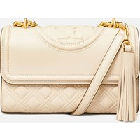 Tory Burch Women's Fleming Small Shoulder Bag - NEW CREAM