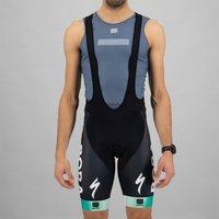 Sportful Bora Hansgrohe Bodyfit Pro Classic Bib Shorts - M