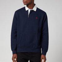 Polo Ralph Lauren Mens Rl Fleece Rugby Polo Shirt - Cruise Navy - M