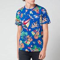 Polo Ralph Lauren Men's Custom Slim Fit Bear Crewneck T-Shirt - Heritage Royal Blue - M