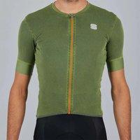 Sportful Monocrom Jersey - S - Green Bottle