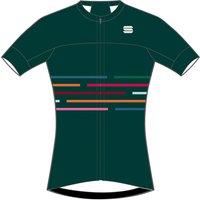 Sportful Women's Velodrome Short Sleeve Jersey - L - Sea Moss