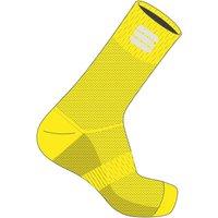 Sportful Matchy Socks - M/L - Yellow Fluo
