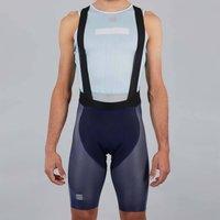 Sportful BodyFit Pro Air Bib Shorts - L - Blue/Blue Sea