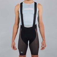 Sportful BodyFit Pro Air Bib Shorts - XL - Black/White