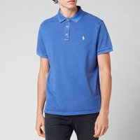Polo Ralph Lauren Men's Custom Slim Fit Spa Terry Polo Shirt - Bright Navy - M