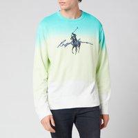Polo Ralph Lauren Men's Spa Terry Sweatshirt - White Dye Multi - M