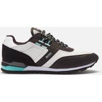 BOSS Men's Parkour Runn Mesh Running Style Trainers - White - UK 11