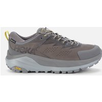 Hoka One One Men's Kaha Low Goretex Trainers - Charcoal Grey/Green Sheen - UK 9