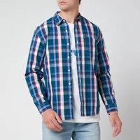 Levi's Men's Slim Fit One Pocket Shirt - True Red - XXL