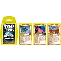 Wonders of the World Top Trumps Classics Card Game