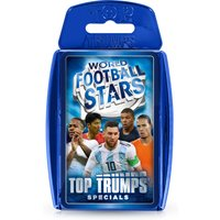 World Football Stars Blue Top Trumps Specials Card Game
