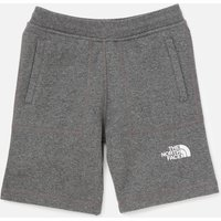 The North Face Boys' Youth Fleece Shorts - Grey - 6 Years