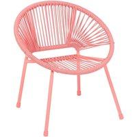Homebase Acapulco Kids Chair - Pink