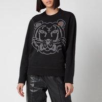 KENZO Women's K-Tiger Classic Sweatshirt - Black - L