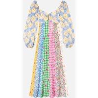 RIXO Women's Ivy Dresses - Summer Ditsy Mix - L