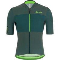Santini Redux Istino Jersey - M - Military Green