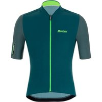 Santini Redux Vigor Jersey - L - Military Green