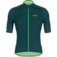 Santini Karma Kite Jersey - M - Military Green
